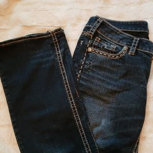 Silver Aiko ladies boot cut jeans 29